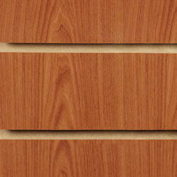 Cherry Slatwall Panels 2400 x 1200