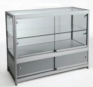3/4 Glass Counter 1200Wx900Hx500D