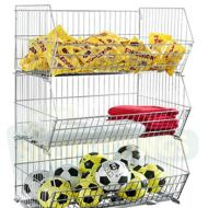 600mm  Stacking Basket - Set